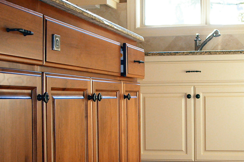Kitchen Cabinet Refinishing In Tulsa Tulsa Paint Co Tulsa Paint Co - Kitchen cabinet refinish